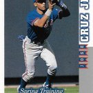 Jose Cruz Jr. 1998 Score Rookie & Traded #RT256 Toronto Blue Jays Baseball Card