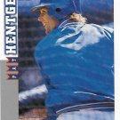 Pat Hentgen 1998 Score Rookie & Traded #RT87 Toronto Blue Jays Baseball Card