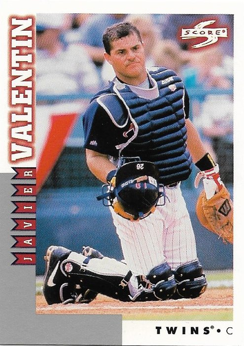 Javier Valentin 1998 Score Rookie & Traded #RT160 Minnesota Twins Baseball Card