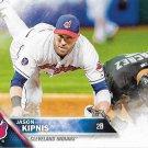 Jason Kipnis 2016 Topps #195 Cleveland Indians Baseball Card