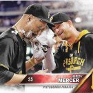 Jordy Mercer 2016 Topps #527 Pittsburgh Pirates Baseball Card