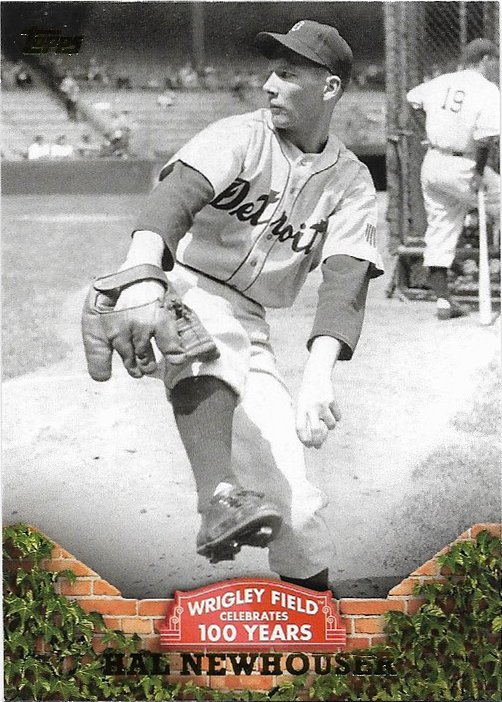 Hal Newhouser 2016 Topps '100 Years at Wrigley' #WRIG-49 Detroit Tigers Baseball Card