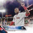 David Ortiz 2016 Topps #400 Boston Red Sox Baseball Card