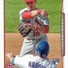 Kolten Wong 2014 Topps Rookie #46 St. Louis Cardinals Baseball Card