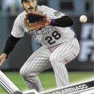 Nolan Arenado 2017 Topps #400 Colorado Rockies Baseball Card