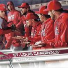 St. Louis Cardinals 2017 Topps #370 Baseball Team Card