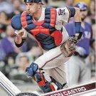 Jason Castro 2017 Topps #554 Minnesota Twins Baseball Card