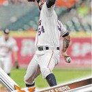 Mike Fiers 2017 Topps #496 Houston Astros Baseball Card