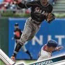 Dee Gordon 2017 Topps #443 Miami Marlins Baseball Card