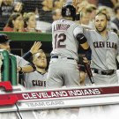 Cleveland Indians 2017 Topps #122 Baseball Team Card