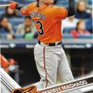 Manny Machado 2017 Topps #649 Baltimore Orioles Baseball Card