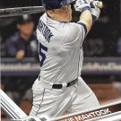 Mikie Mahtook 2017 Topps #550 Detroit Tigers Baseball Card