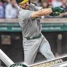 Trevor Plouffe 2017 Topps #542 Oakland Athletics Baseball Card