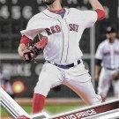 David Price 2017 Topps #584 Boston Red Sox Baseball Card
