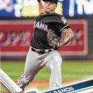 A.J. Ramos 2017 Topps #194 Miami Marlins Baseball Card