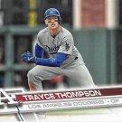 Trayce Thompson 2017 Topps #574 Los Angeles Dodgers Baseball Card