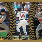 Jeff Bagwell, Andres Galarraga, Mark McGwire 1999 Topps #450 Baseball Card
