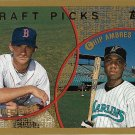 Adam Everett, Chip Ambres 1999 Topps Rookie #443 Baseball Card
