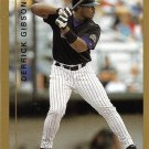 Derrick Gibson 1999 Topps #392 Colorado Rockies Baseball Card