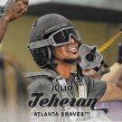 Julio Teheran 2017 Topps Stadium Club #73 Atlanta Braves Baseball Card