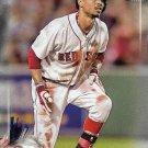 Mookie Betts 2017 Bowman #6 Boston Red Sox Baseball Card