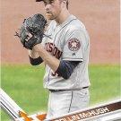 Collin McHugh 2017 Topps #585 Houston Astros Baseball Card