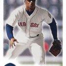 Jose Offerman 2000 Fleer Focus #179 Boston Red Sox Baseball Card