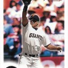 J.T. Snow 2000 Fleer Focus #176 San Francisco Giants Baseball Card