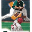 Miguel Tejada 2000 Fleer Focus #3 Oaklad Athletics Baseball Card
