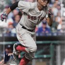 Xander Bogaerts 2017 Bowman #76 Boston Red Sox Baseball Card