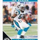 Jon Beason 2011 Score #44 Carolina Panthers Football Card