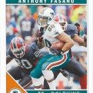 Anthony Fasano 2011 Score #150 Miami Dolphins Football Card