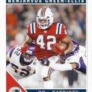 BenJarvus Green-Ellis 2011 Score #169 New England Patriots Football Card