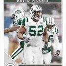 David Harris 2011 Score #201 New York Jets Football Card