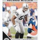 Rolando McClain 2011 Score #215 Oakland Raiders Football Card