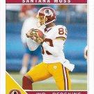 Santana Moss 2011 Score #300 Washington Redskins Football Card