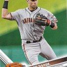 Joe Panik 2017 Topps #673 San Francisco Giants Baseball Card