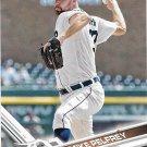 Mike Pelfrey 2017 Topps #680 Detroit Tigers Baseball Card