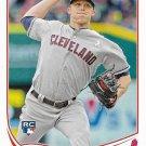 Cody Allen 2013 Topps Update Rookie #US9 Cleveland Indians Baseball Card