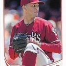 Randall Delgado 2013 Topps Update #US167 Arizona Diamondbacks Baseball Card
