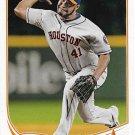 Jose Veras 2013 Topps Update #US303 Houston Astros Baseball Card
