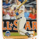 David Wright 2013 Topps Update #US316 New York Mets Baseball Card