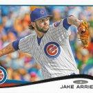 Jake Arrieta 2014 Topps #438 Chicago Cubs Baseball Card