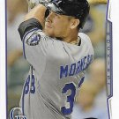 Justin Morneau 2014 Topps #465 Colorado Rockies Baseball Card