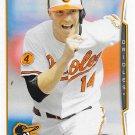 Nolan Reimold 2014 Topps #558 Baltimore Orioles Baseball Card
