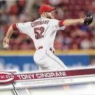Tony Cingrani 2017 Topps #698 Cincinnati Reds Baseball Card