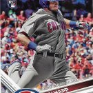Ian Happ 2017 Topps Update Rookie Debut #US37 Chicago Cubs Baseball Card