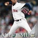 Pedro Martinez 2017 Topps All-ime All Star #ATAS-11 Boston Red Sox Baseball Card