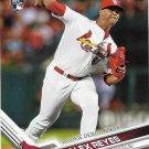 Alex Reyes 2017 Topps Update Rookie Debut #US249 St. Louis Cardinals Baseball Card