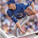 Aaron Sanchez 2017 Topps #586 Toronto Blue Jays Baseball Card